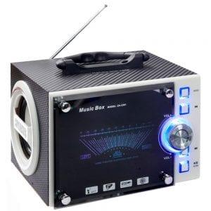 רמקול מיוזיק בוקס משולב רדיו
