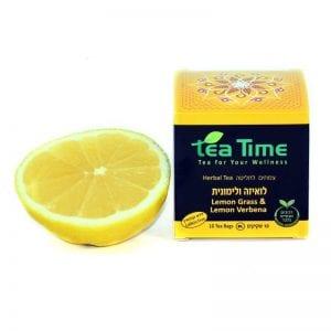 חליטת תה - לואיזה ולימונית Tea Time