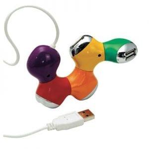 מפצל 4 חיבורי USB