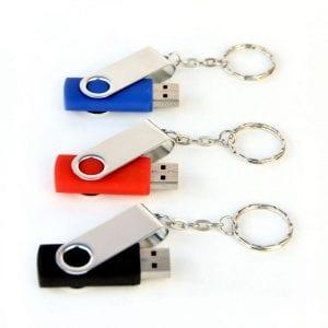 דיסק און קי עם מחזיק מפתחות נשלף