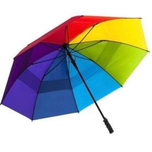 מטריית צבעי הקשת 27 אינץ