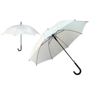מטרייה עם ידית פלסטיק